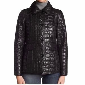 Kate Spade Quilted Black Puffer Jacket Size Small